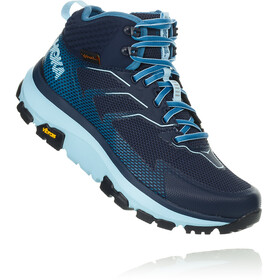 Hoka One One Sky Toa Running Shoes Women Black Iris/Aquamarine
